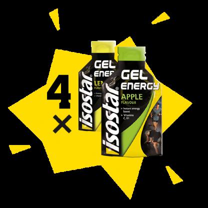 Energy gel geel x4